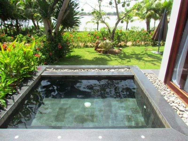 Affordable Small Backyard with Plunge Pool 12