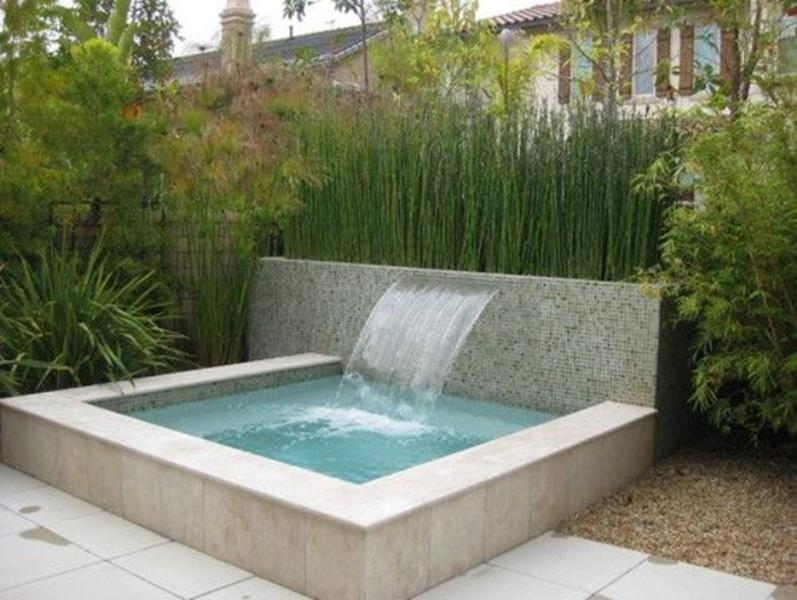 Affordable Small Backyard with Plunge Pool 14