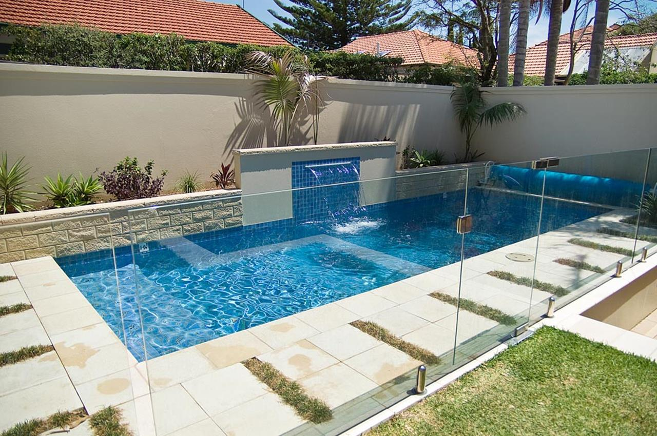 Affordable Small Backyard with Plunge Pool 17