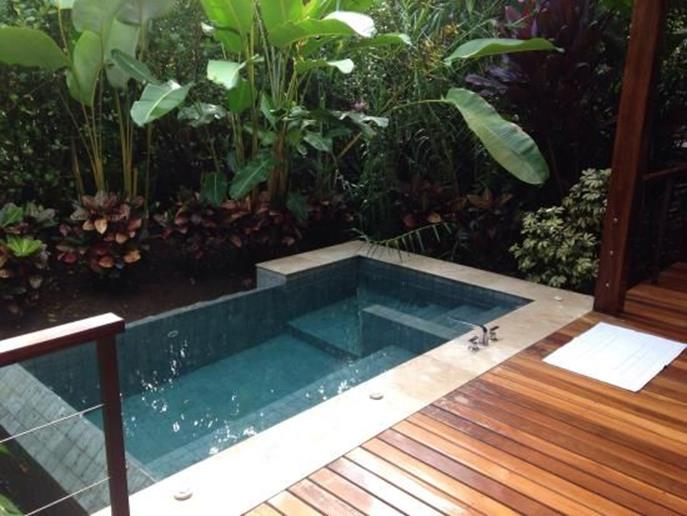 Affordable Small Backyard with Plunge Pool 18