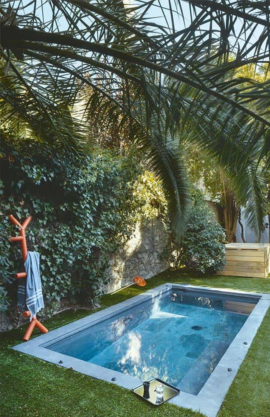 Affordable Small Backyard with Plunge Pool 26