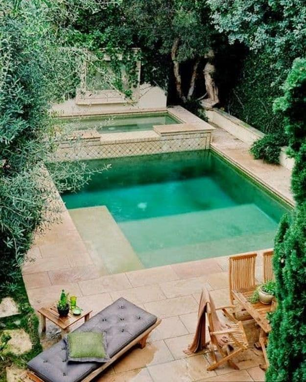 Affordable Small Backyard with Plunge Pool 5