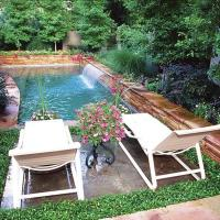 Affordable Small Backyard with Plunge Pool Ideas