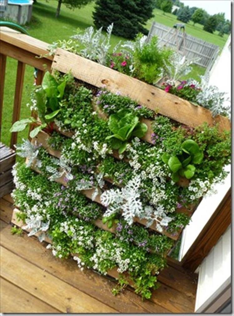 Upcycled Wood Pallet Gardens 11