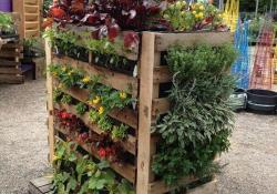 Upcycled Wood Pallet Gardens 15