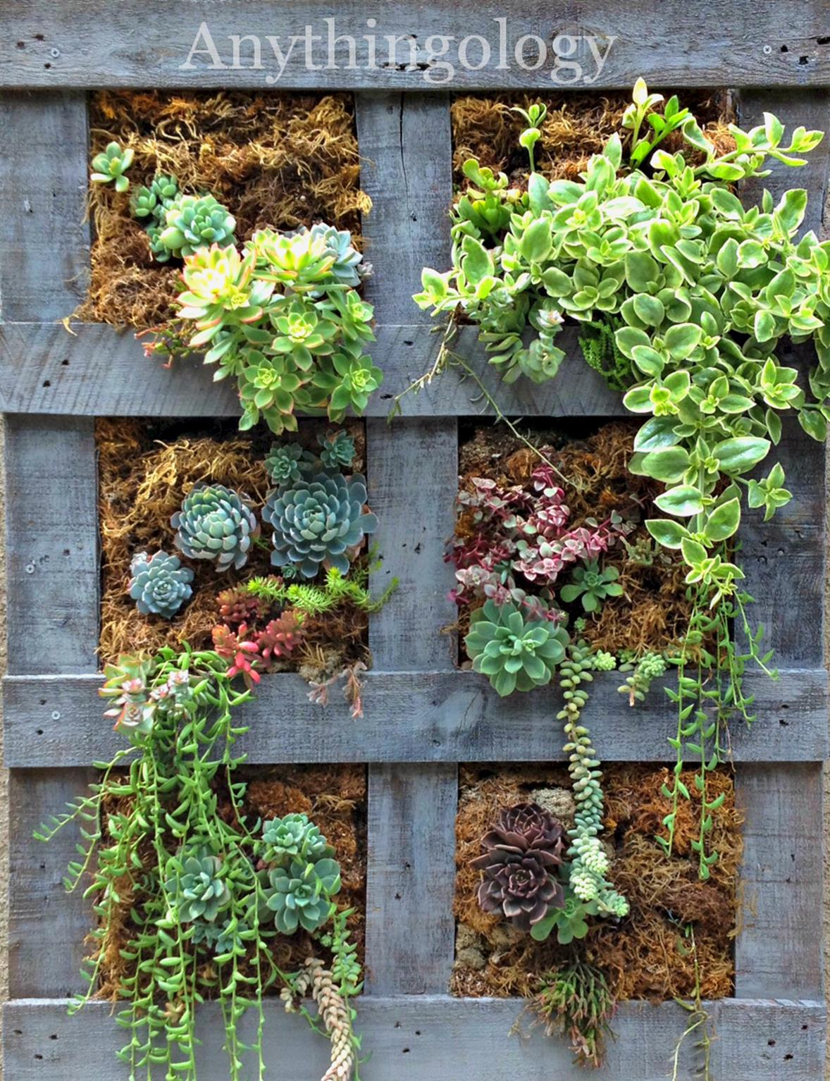 Upcycled Wood Pallet Gardens 19