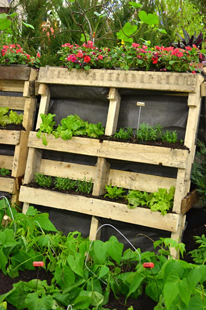 Upcycled Wood Pallet Gardens 20