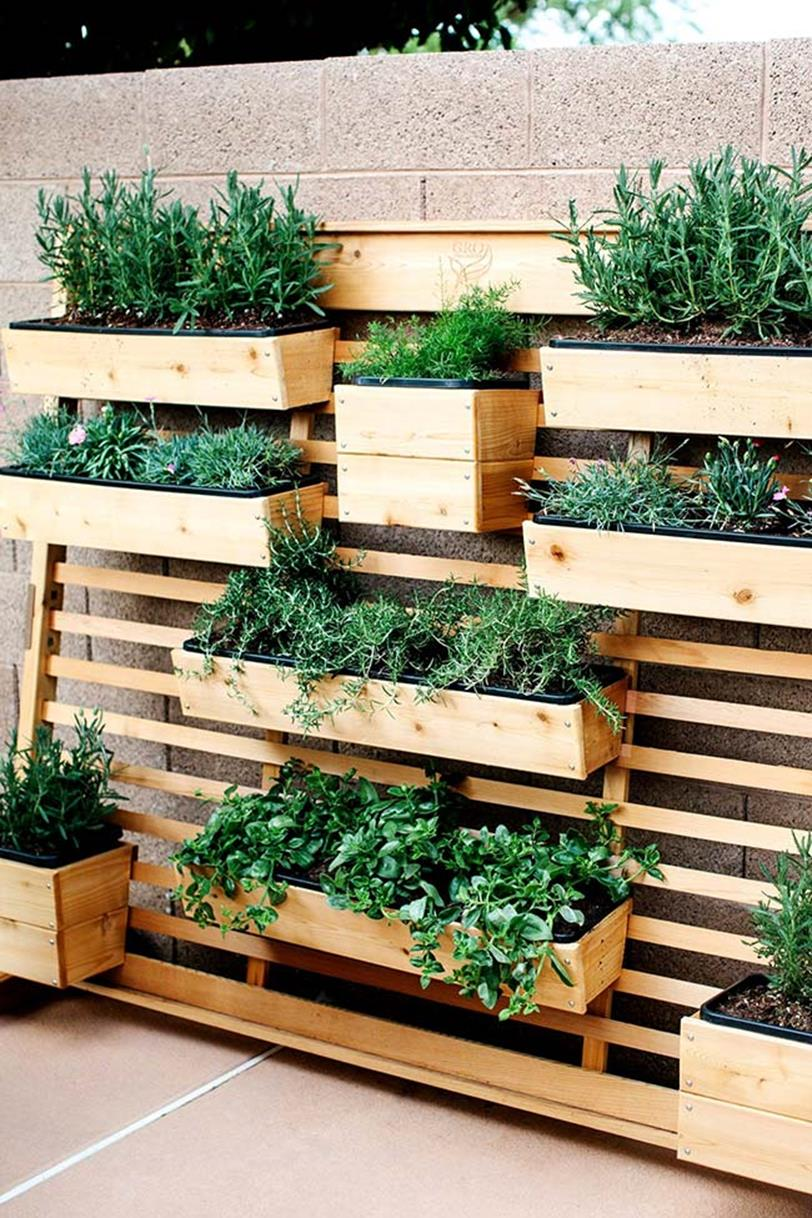 Upcycled Wood Pallet Gardens 21