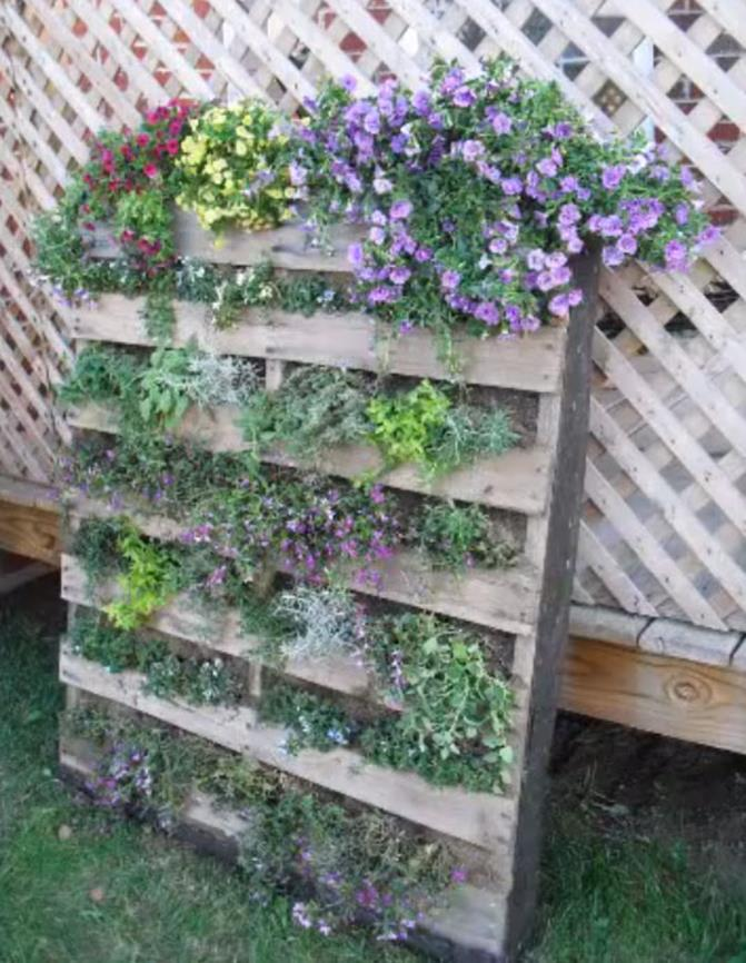 Upcycled Wood Pallet Gardens 23