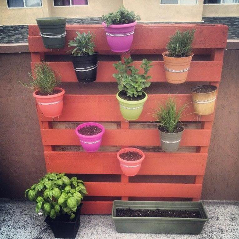 Upcycled Wood Pallet Gardens 5