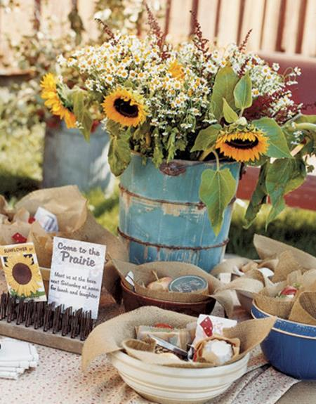 Country Spring Decorating Ideas On A Budget 15