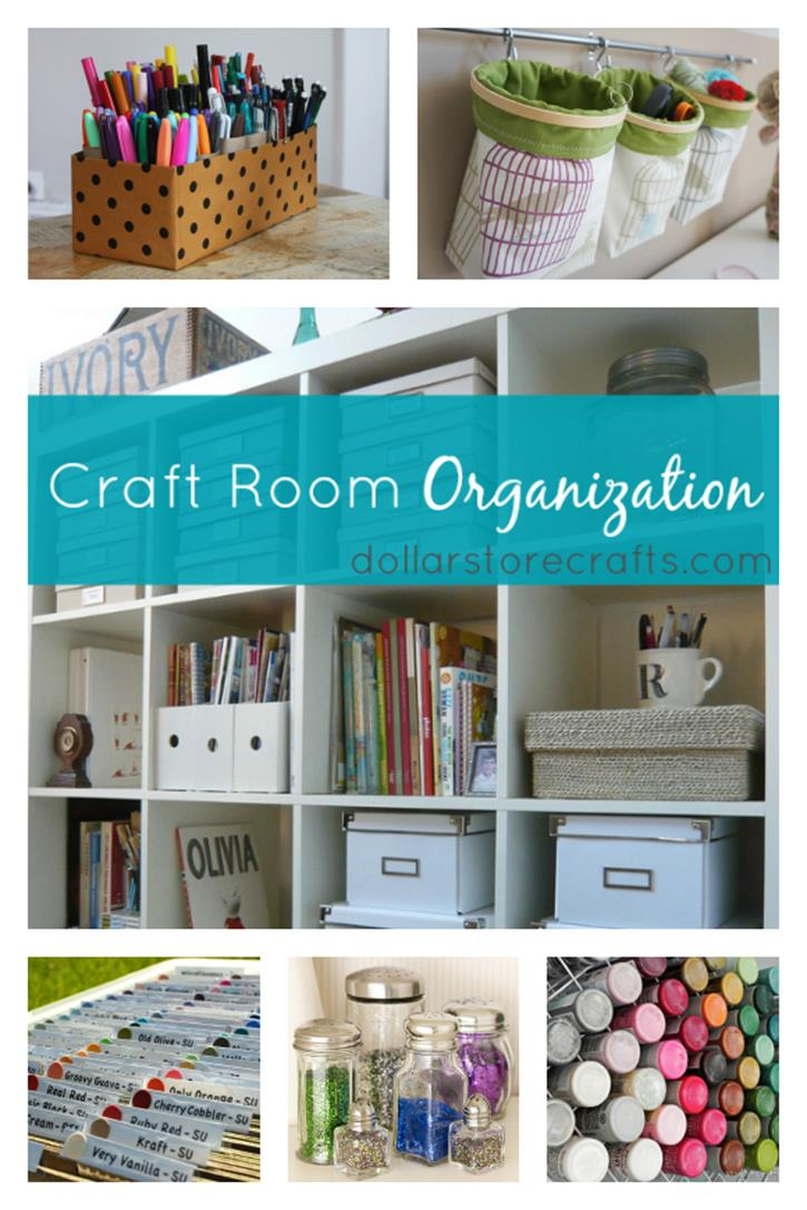 Craft Room Storage Organization Ideas On a Budget 11
