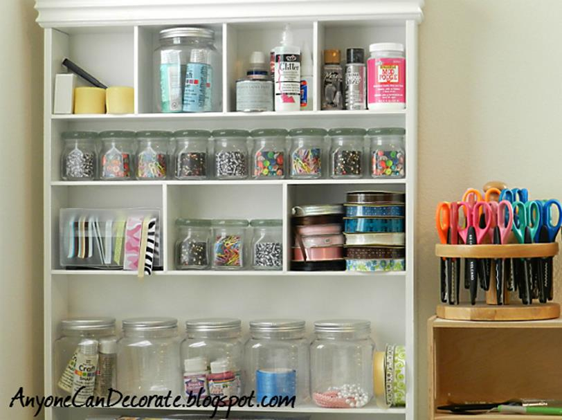 Craft Room Storage Organization Ideas On a Budget 5