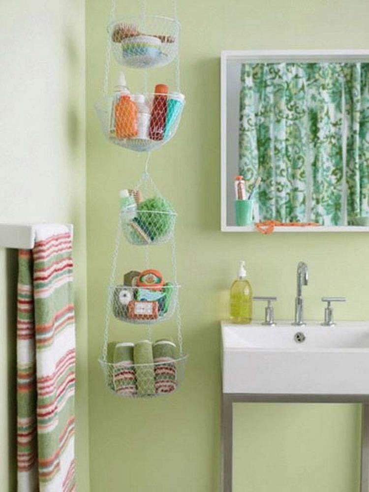 DIY Bathroom Organization Ideas On a Budget 23