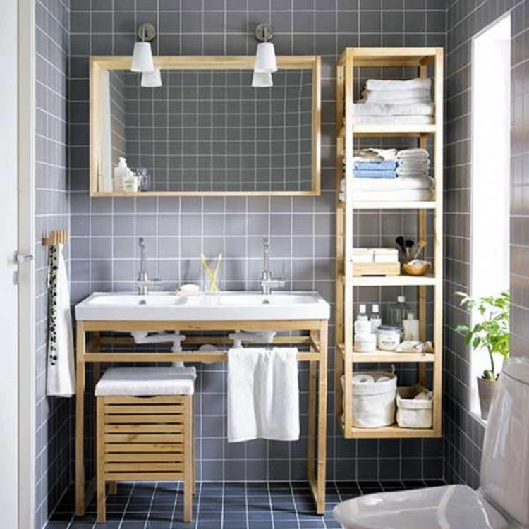 DIY Bathroom Organization Ideas On a Budget 24