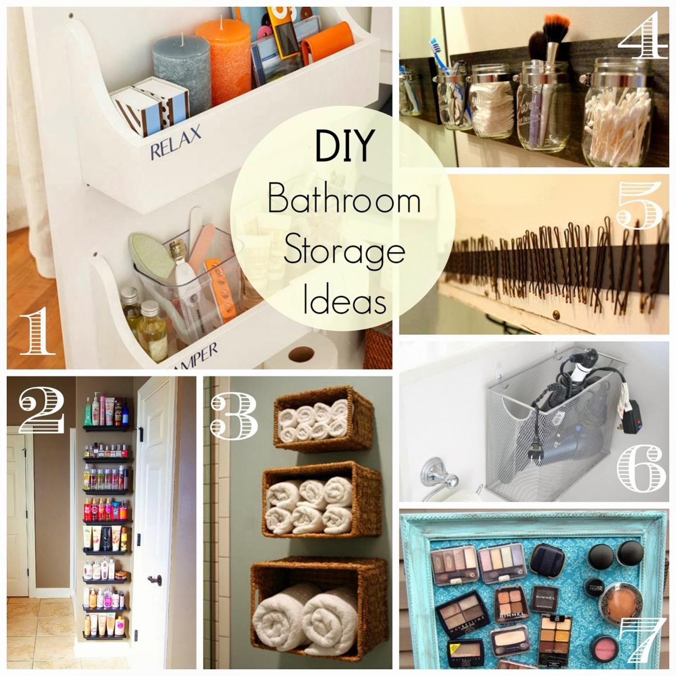 DIY Bathroom Organization Ideas On a Budget 28