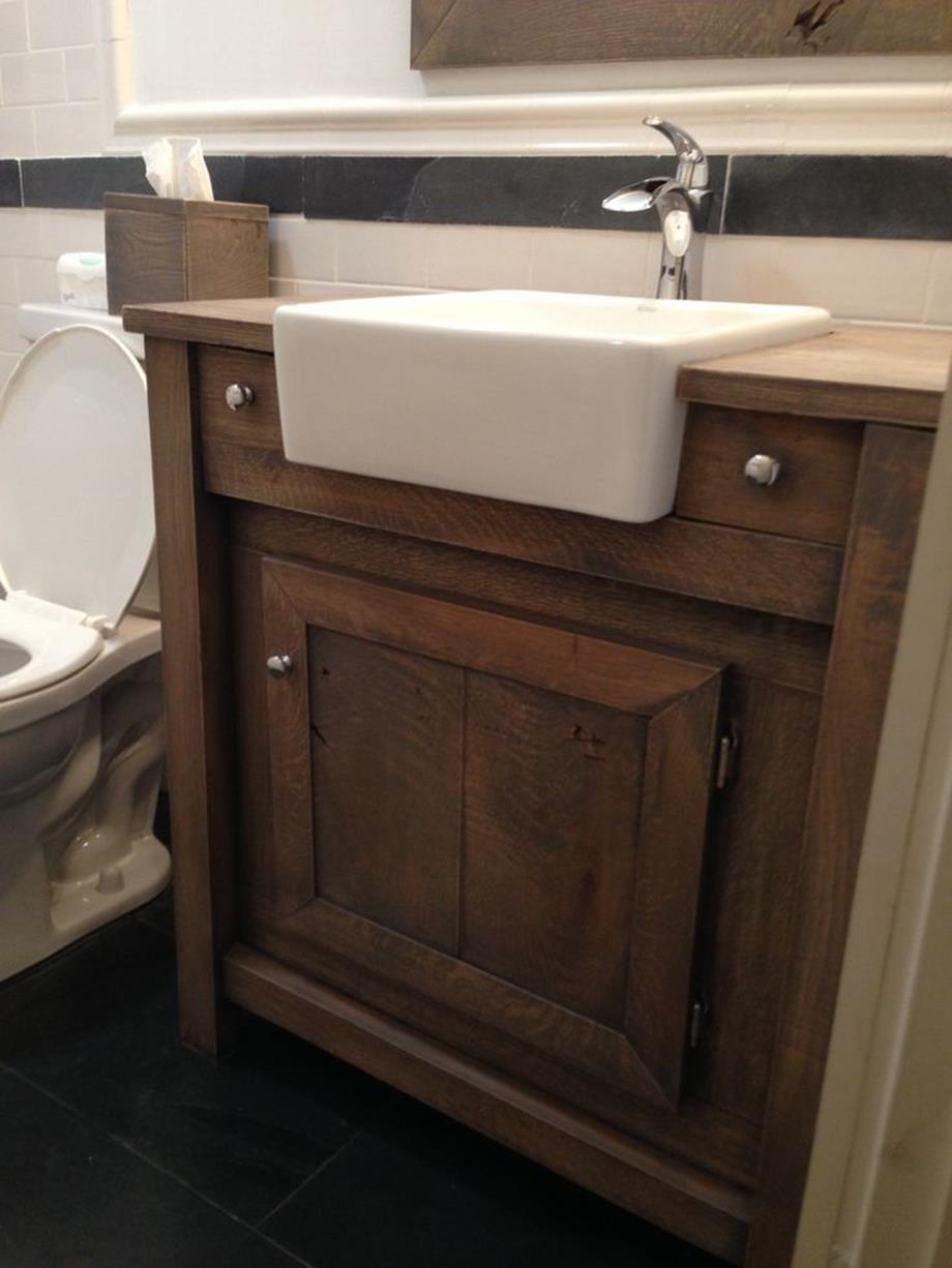 Farmhouse Style Bathroom Sink Ideas 2