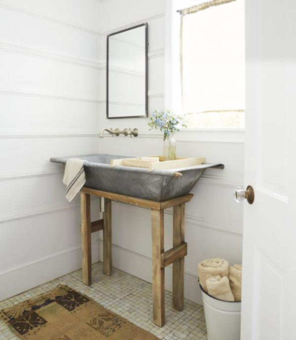 Farmhouse Style Bathroom Sink Ideas 30