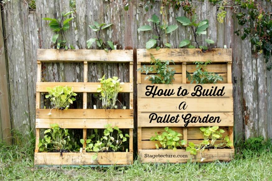 Gardening Ideas With Wood Pallets 18