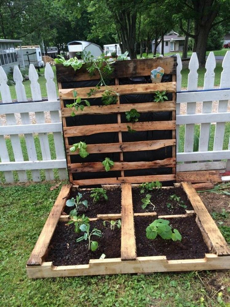 Gardening Ideas With Wood Pallets 2