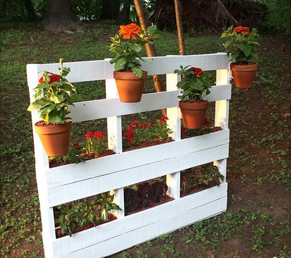 Gardening Ideas With Wood Pallets 30