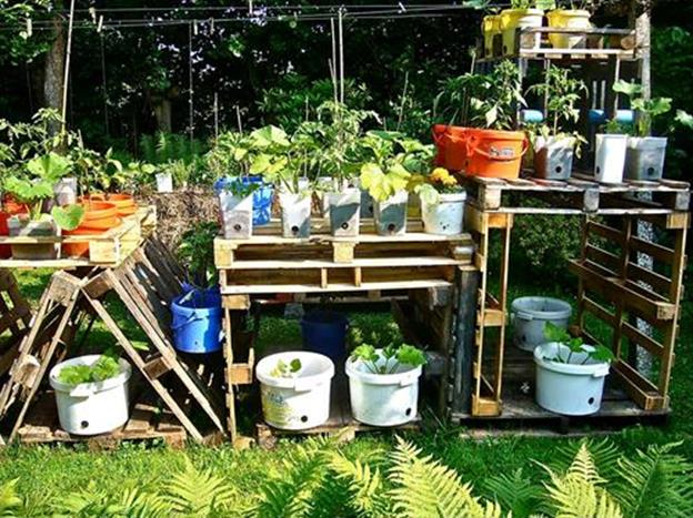 Gardening Ideas With Wood Pallets 31