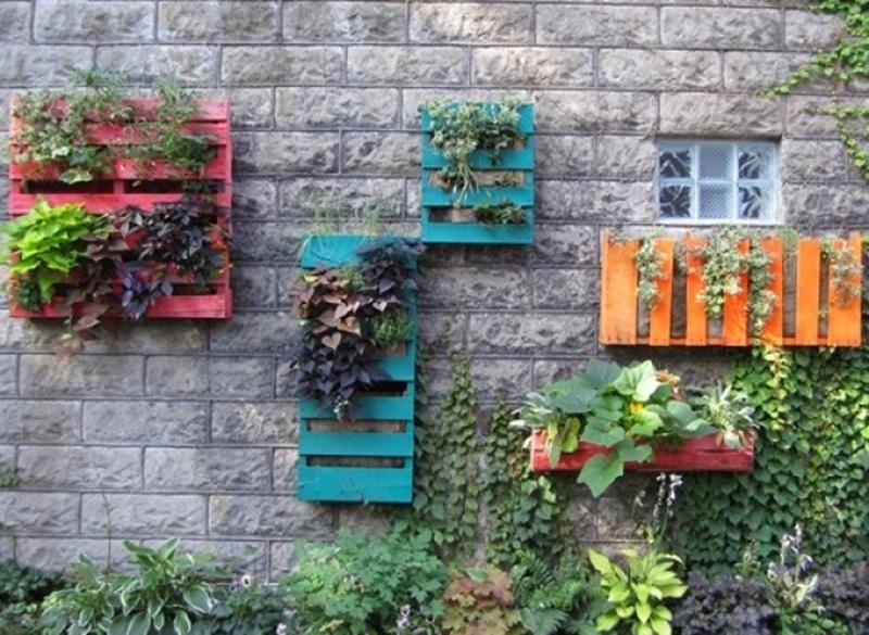 Gardening Ideas With Wood Pallets 6