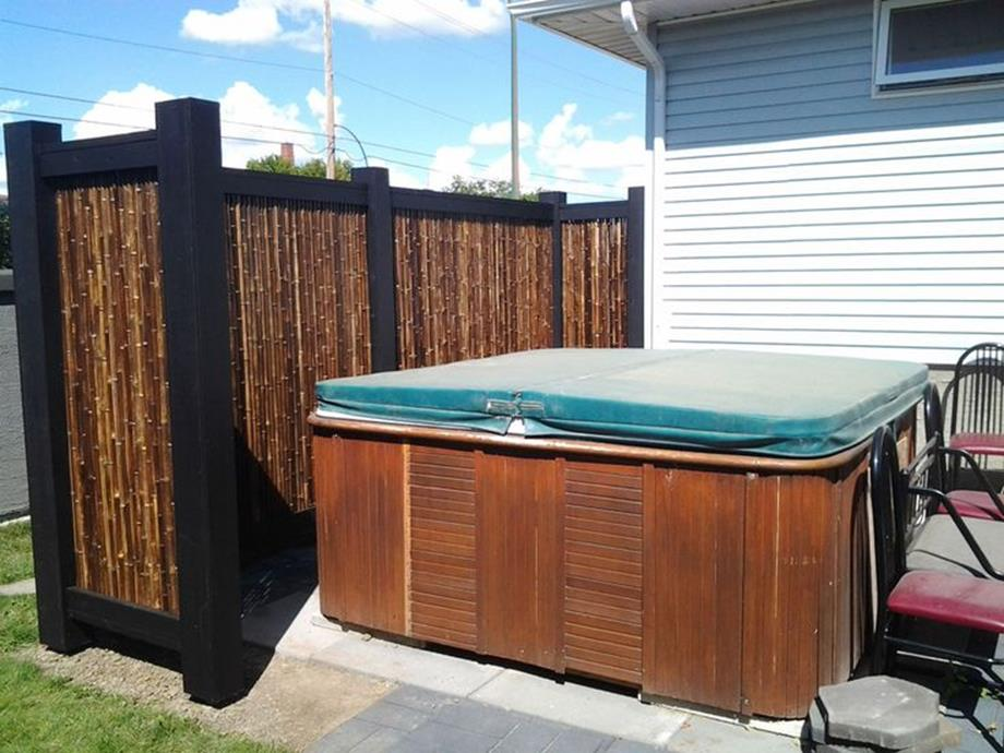 Perfect Outdoor Hot Tub Privacy Ideas 19