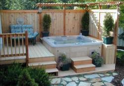 Perfect Outdoor Hot Tub Privacy Ideas 22