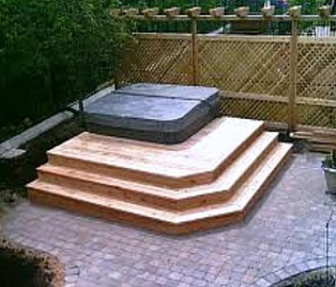 Perfect Outdoor Hot Tub Privacy Ideas 27