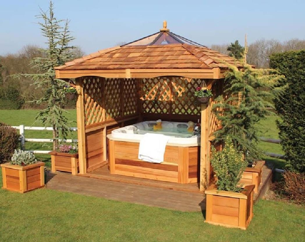 Perfect Outdoor Hot Tub Privacy Ideas 32