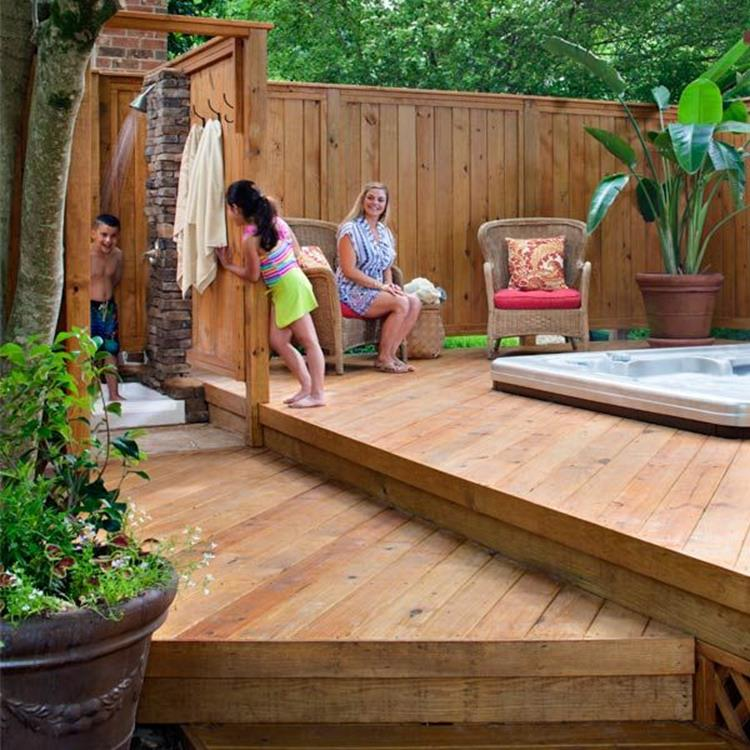 Perfect Outdoor Hot Tub Privacy Ideas 4