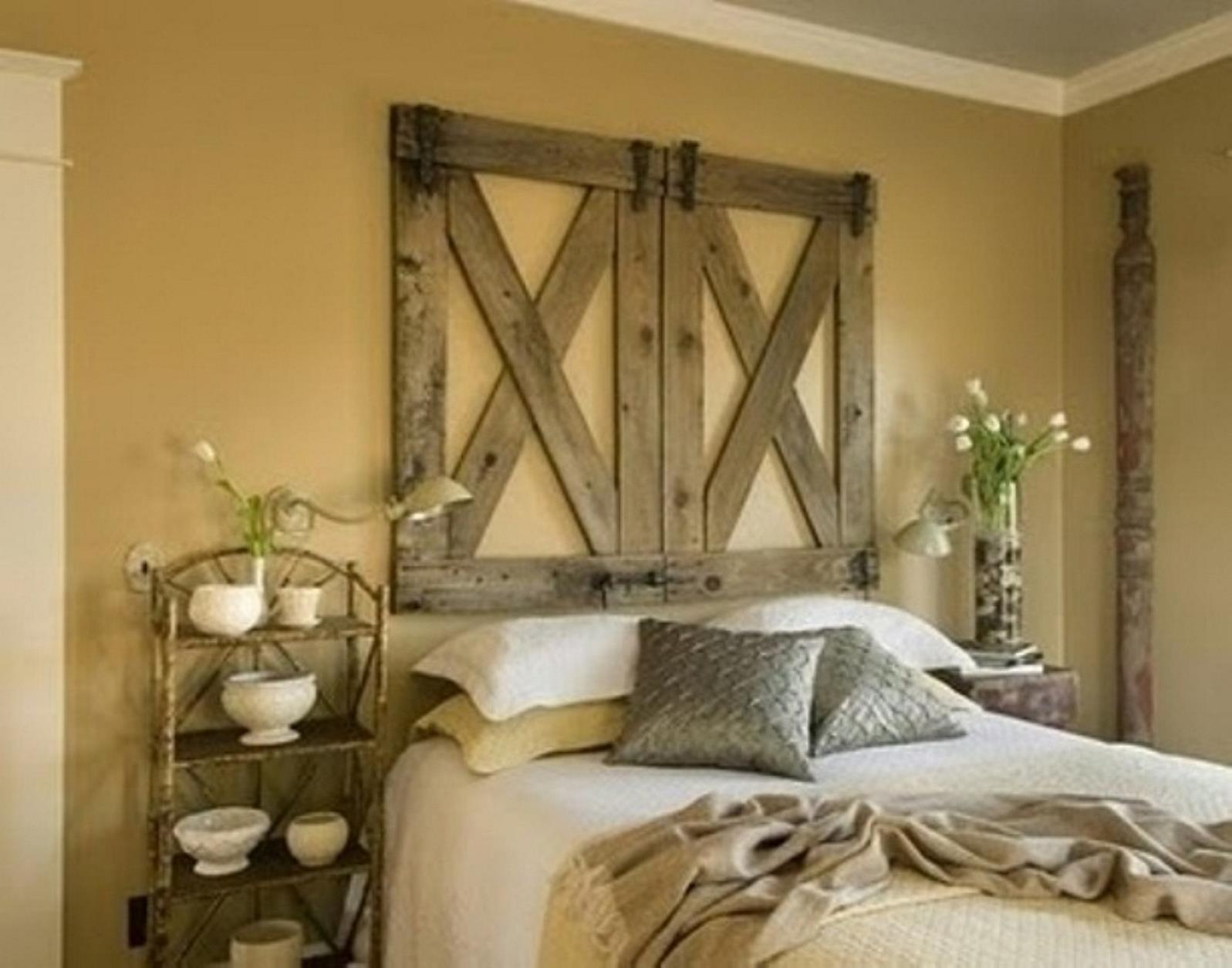 Rustic Bedroom Wall Decorating Ideas 10