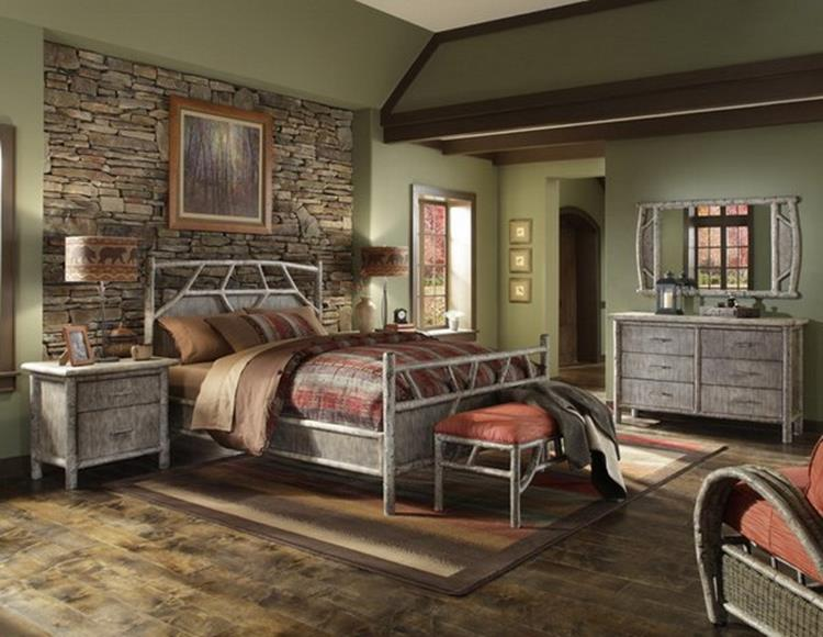 Rustic Bedroom Wall Decorating Ideas 30