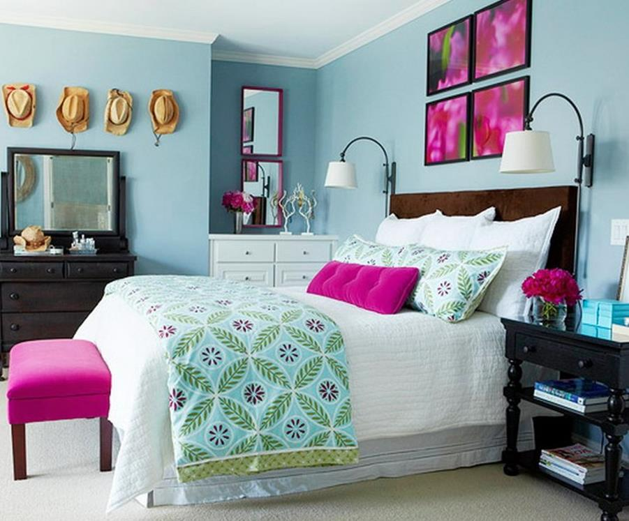 Simple Teen Girls Bedroom Decorating Ideas 39