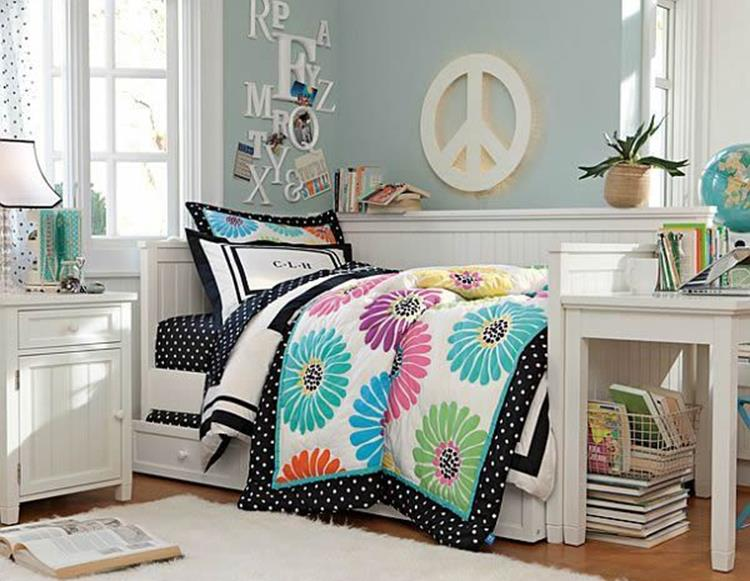 Simple Teen Girls Bedroom Decorating Ideas 5