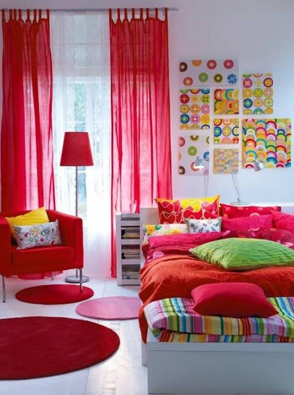 Simple Teen Girls Bedroom Decorating Ideas 8