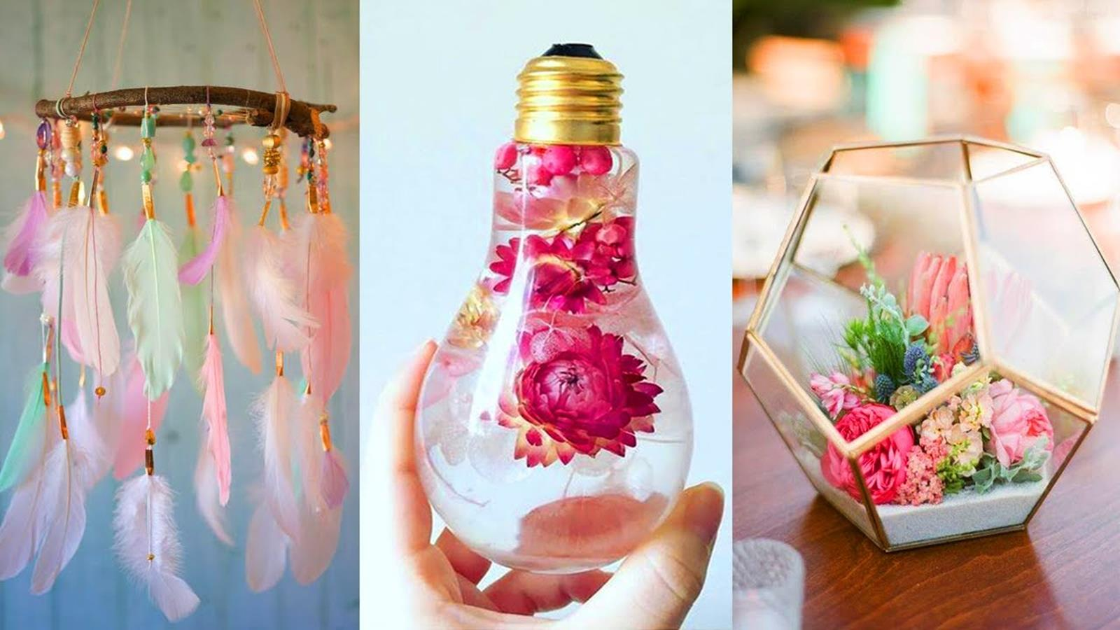 Creative Homemade Crafts for House Decorations Ideas 16