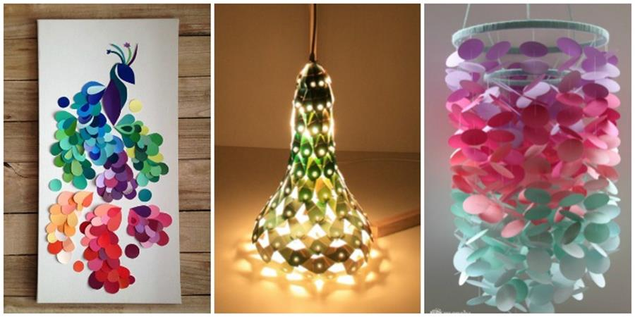 Creative Homemade Crafts for House Decorations Ideas 19