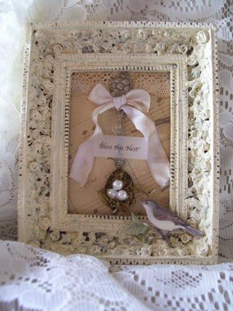 DIY Easy Shabby Chic Arts and Crafts Ideas 21