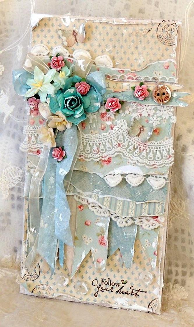 DIY Easy Shabby Chic Arts and Crafts Ideas 23