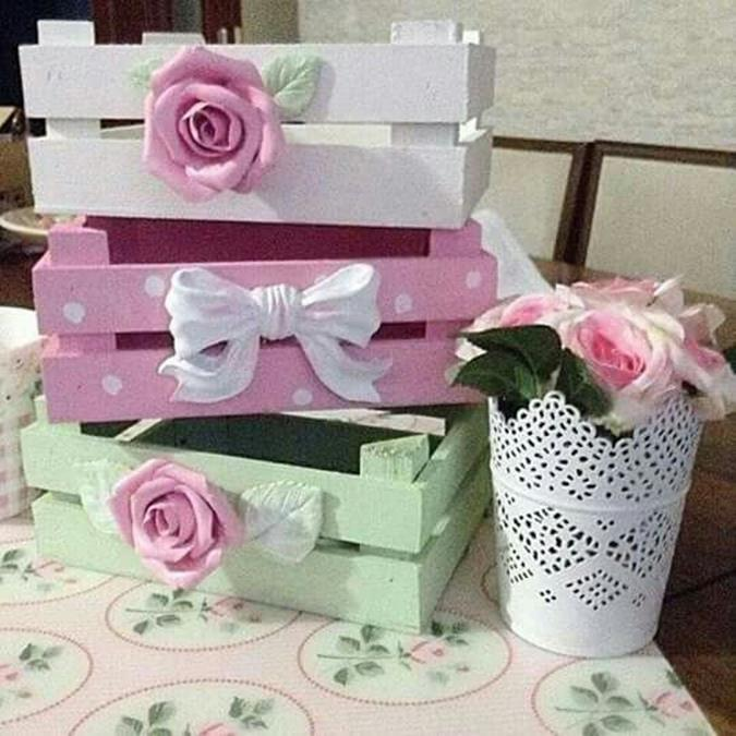 DIY Easy Shabby Chic Arts and Crafts Ideas 8