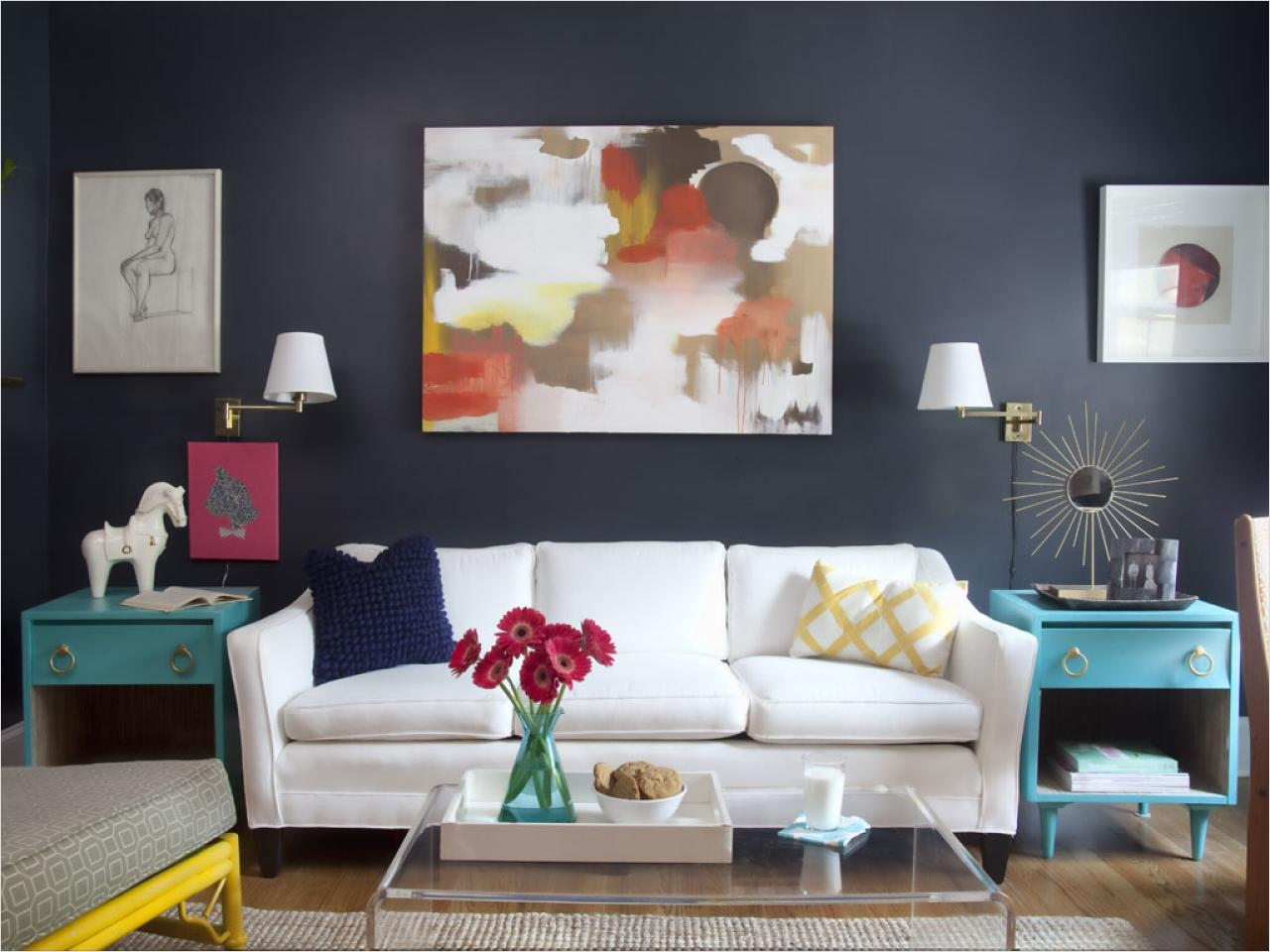 Decorating Small Space Living Room 13