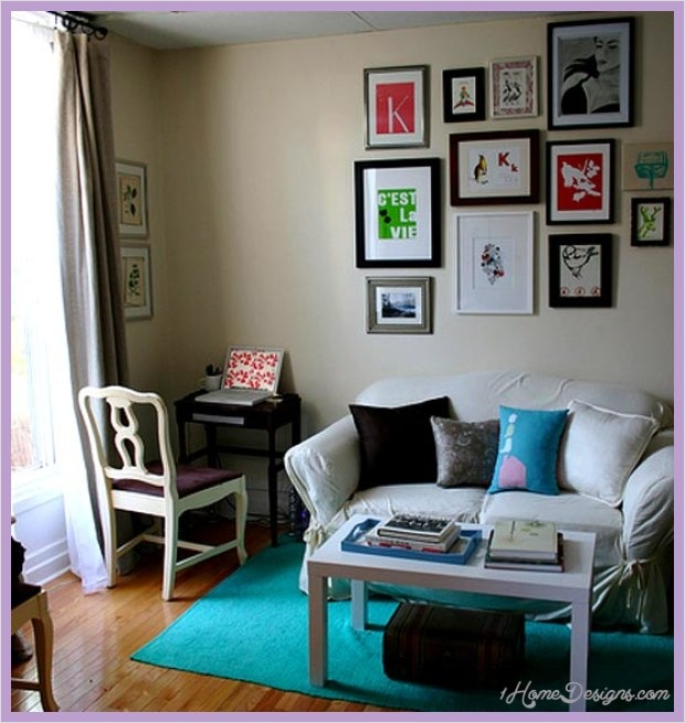 Decorating Small Space Living Room 19