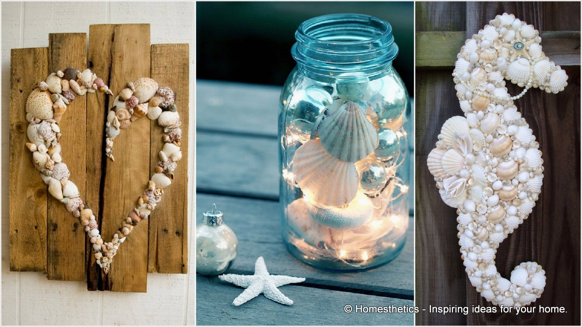 40 Diy Easy Seashell Craft Ideas 95 21 Beautifully Ingenious Sea Shell Projects to Consider Your Next Walk by the Beach 4