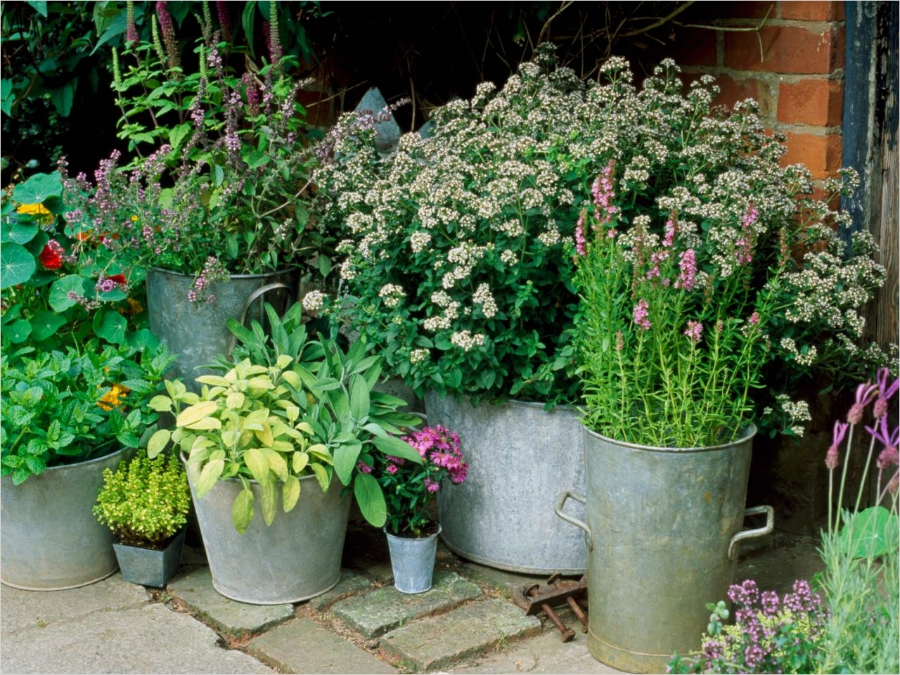 Garden Ideas for Small Spaces 97 Container and Small Space Gardening Diy Garden Projects 7