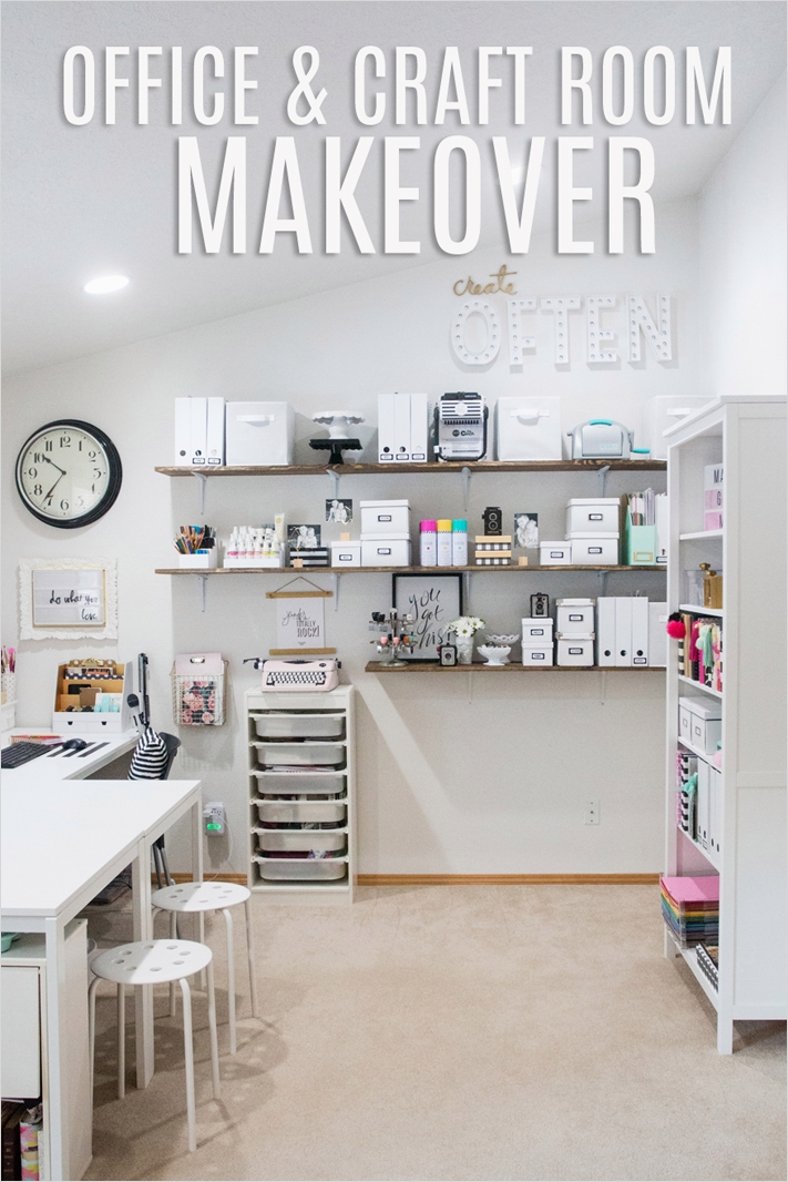 Ikea Craft Room Makeover 19 How I organize My Letterboard Letters Create Ten 1