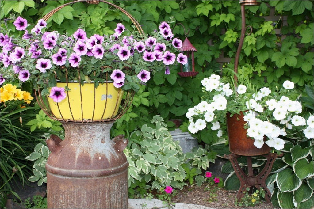 44 Amazing Rustic Garden Ideas 98 Rustic Garden Decor Ideas Graph 9