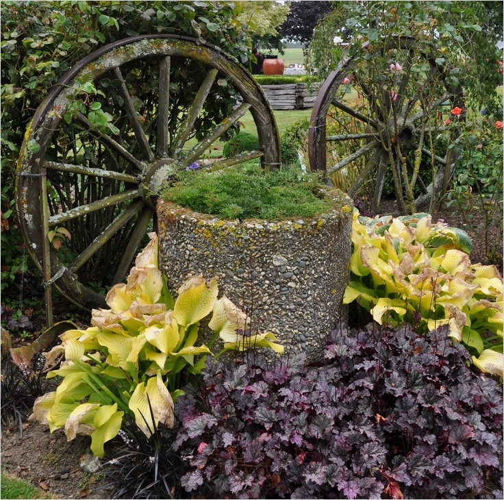 44 Amazing Rustic Garden Ideas 38 Rustic Garden Feature Gardening Ideas 2