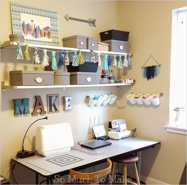 Sewing Room Ideas for Small Spaces 21 Small Space Sewing Room Makeover 4
